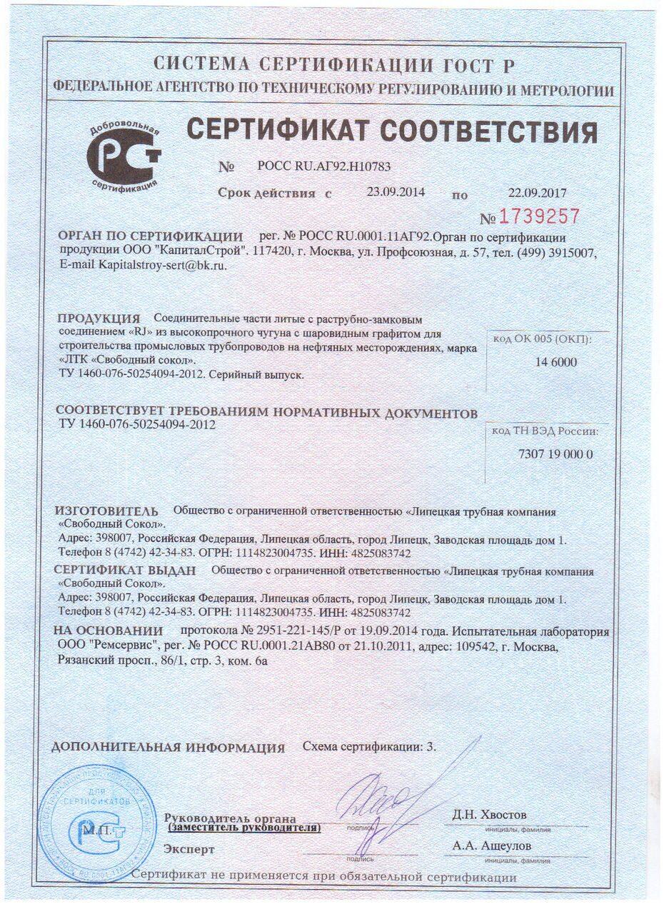 Сертификация тепловых сетей реферат стандартизация и сертификация программного обеспечения